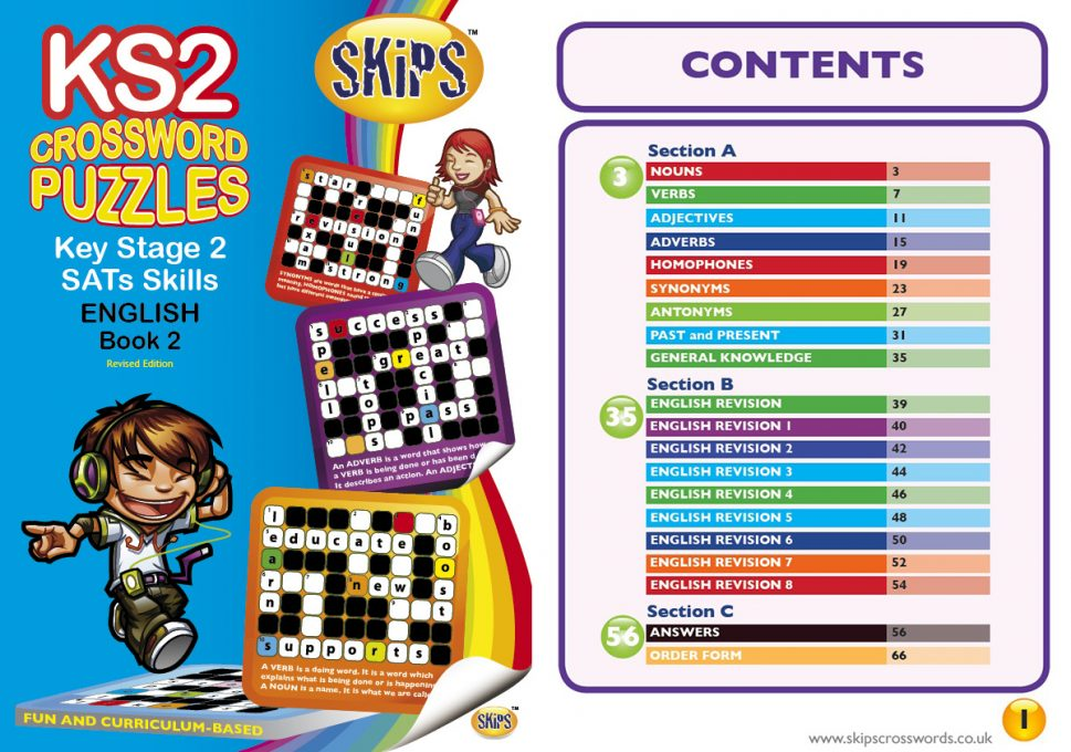 KS2 CrossWord <small> Book 2 </small>