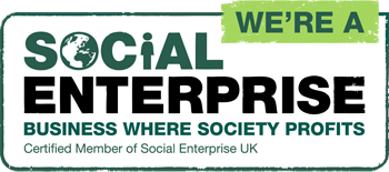 We are a social enterprise