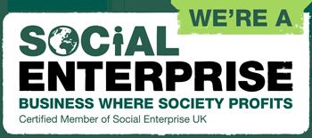 We are a social enterprise