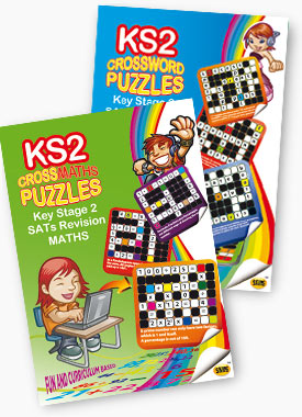 Skips CrossWords and CrossMaths books